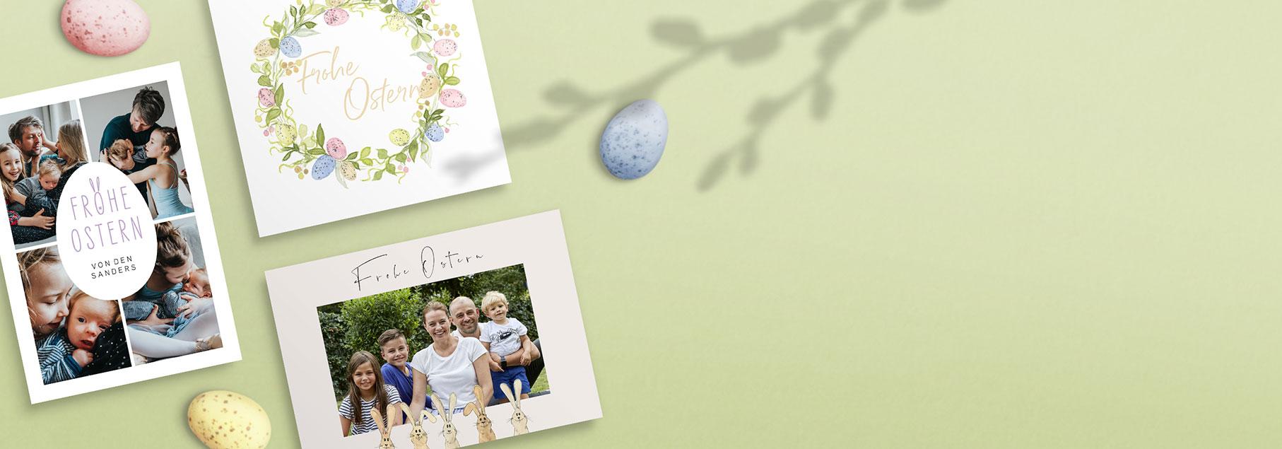 Grußkarten Ostern