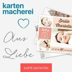 kartenmacherei.de - Geburtstags- & Hochzeitskarten