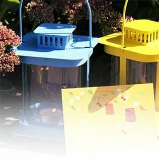 Einladungskarten Inspiration Gartenparty
