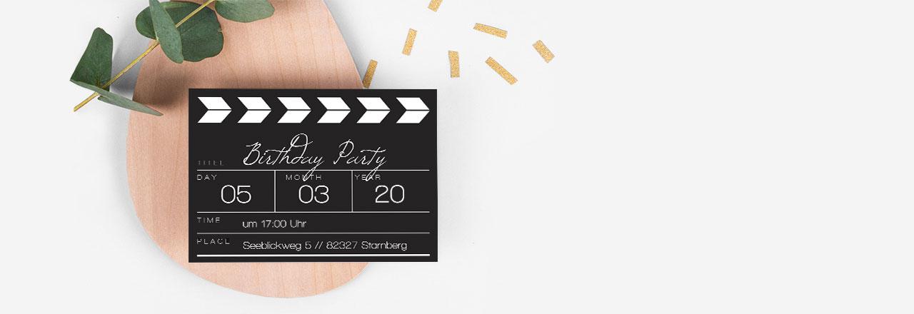 Einladung zum Geburtstag