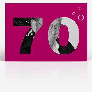 Lustige Geburtstagskarten zum 70. Geburtstag
