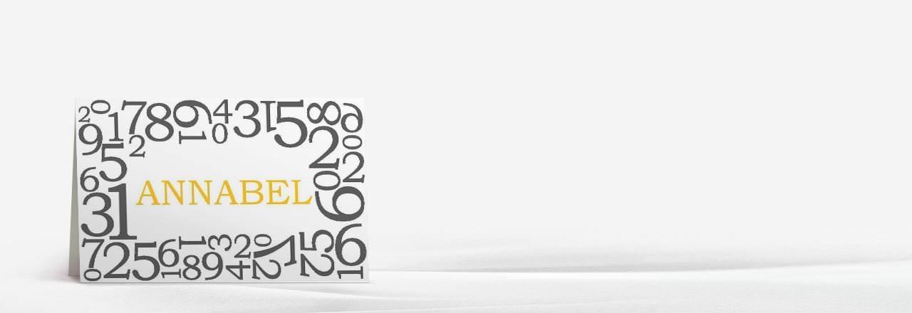 tischkarten zum geburtstag platzkarten in 1 2 tagen. Black Bedroom Furniture Sets. Home Design Ideas