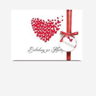 Hochzeit Einladungskarten Anhänger