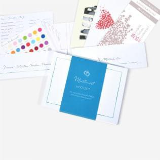 Hochzeit Einladungskarten Musterset