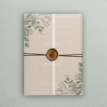 Hochzeitseinladungen besondere Formate