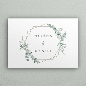 Hochzeitseinladungen greenery