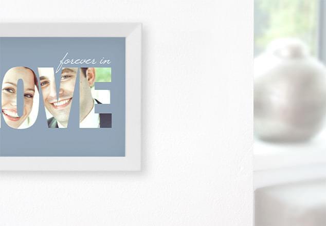 Wandbilder Hochzeit