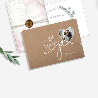 Einladungen zur Hochzeit