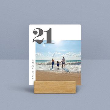 Fotokalender für den Tisch
