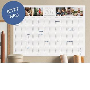 Kalender für das ganze Jahr