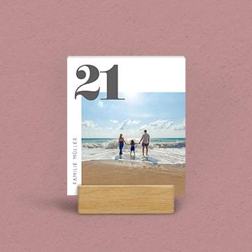 Kalender für den Tisch