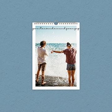 Fotokalender A4 hoch