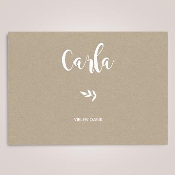 Karten mit Lettering
