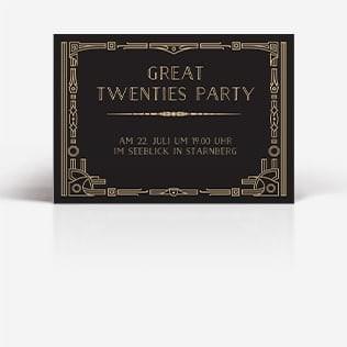 Einladungskarten Mottoparty