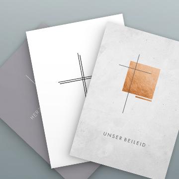 Beileidskarten-Sets