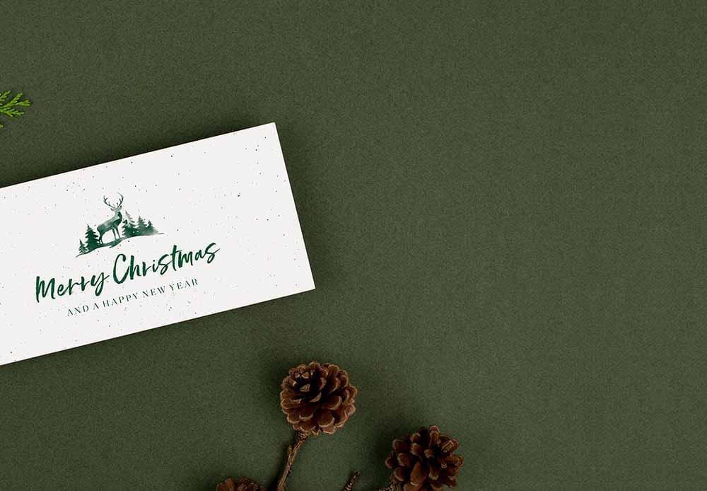 Designs für Einladungskarten zur Weihnachtsfeier