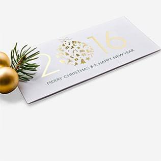 Hochwertige Weihnachtskarten
