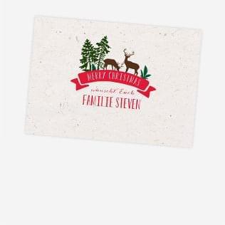Weihnachtseinladungen