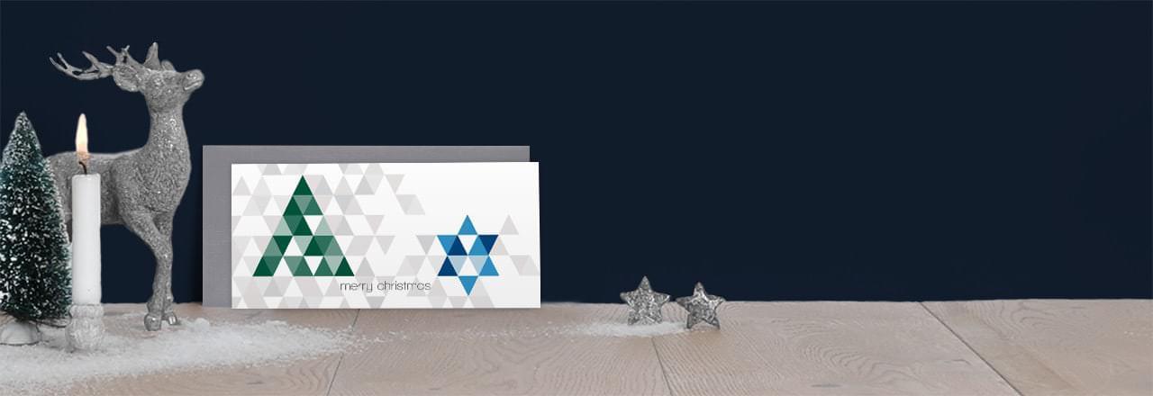 gesch ftliche weihnachtskarten 2016 mit logo drucken. Black Bedroom Furniture Sets. Home Design Ideas