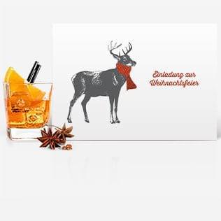 Einladungskarten Weihnachtsfeier