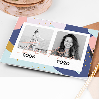 Carte invitation 18 ans