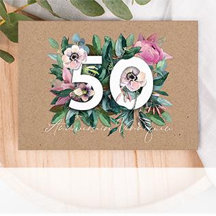 Invitation anniversaire 50 ans