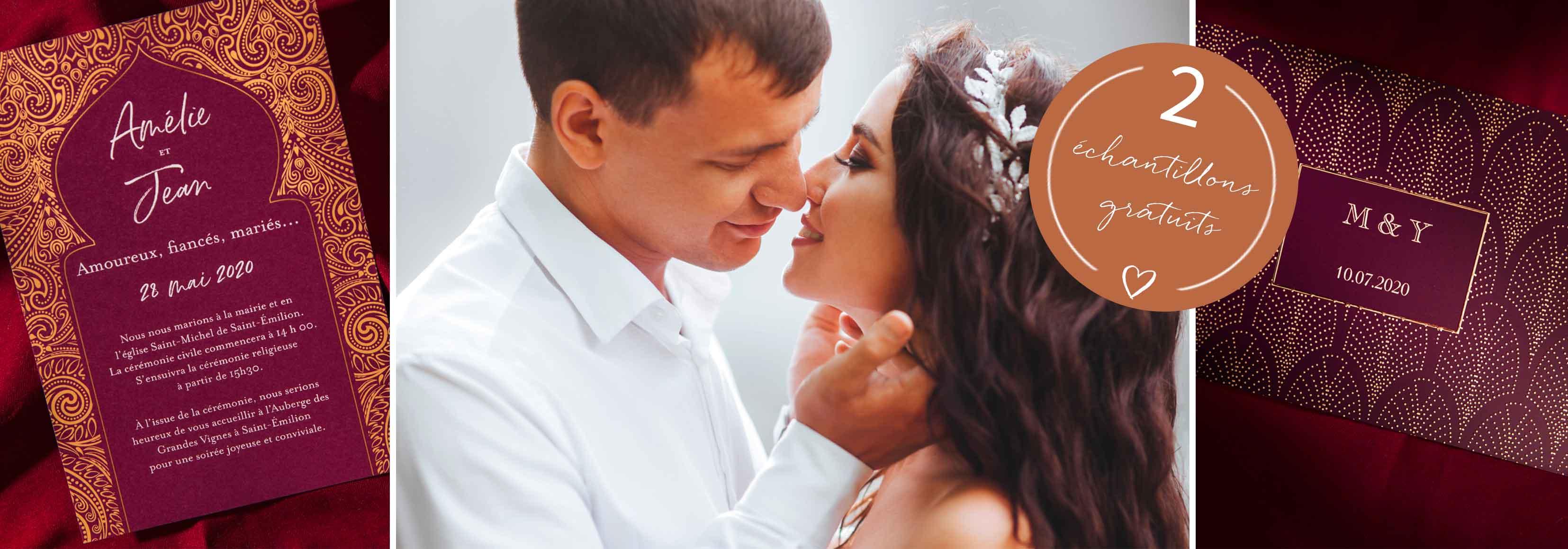 faire-part mariage oriental