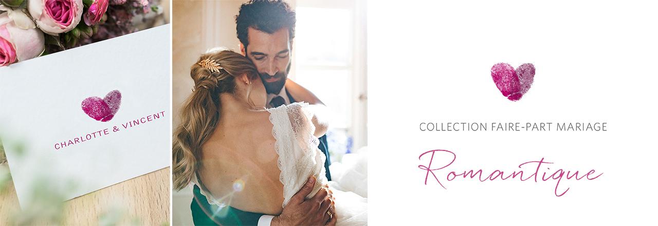 faire-part mariage inspiration romantique