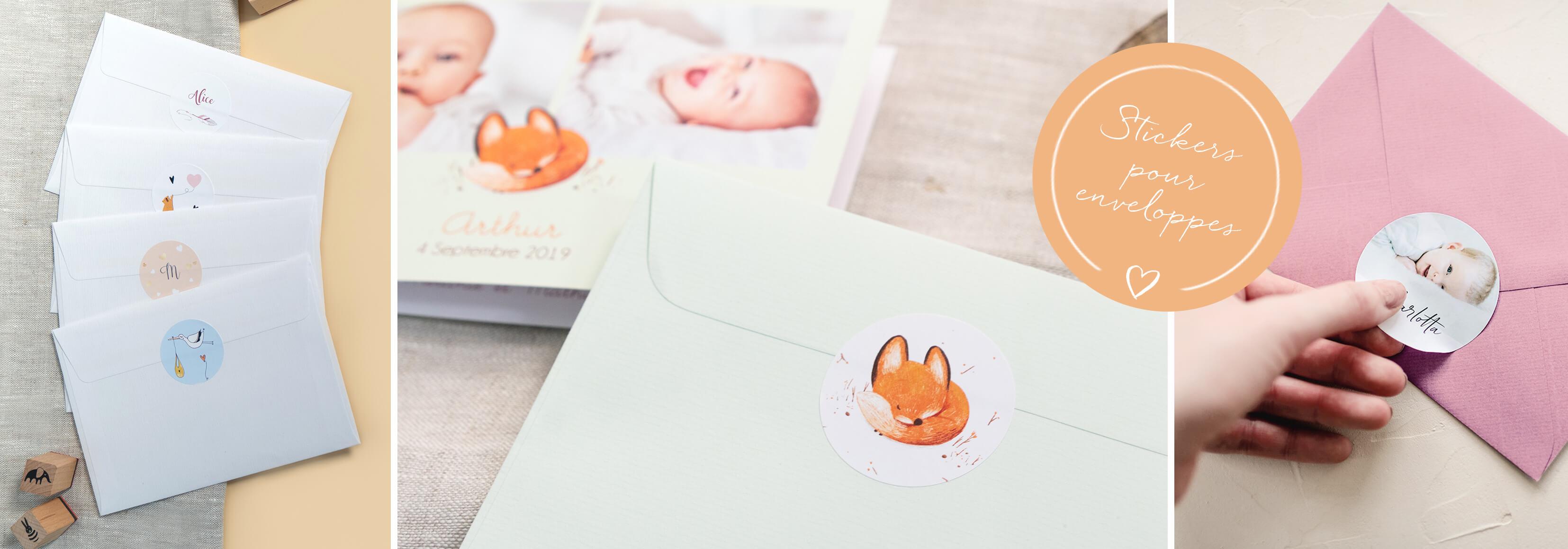 stickers naissance