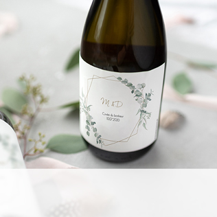 Étiquette champagne