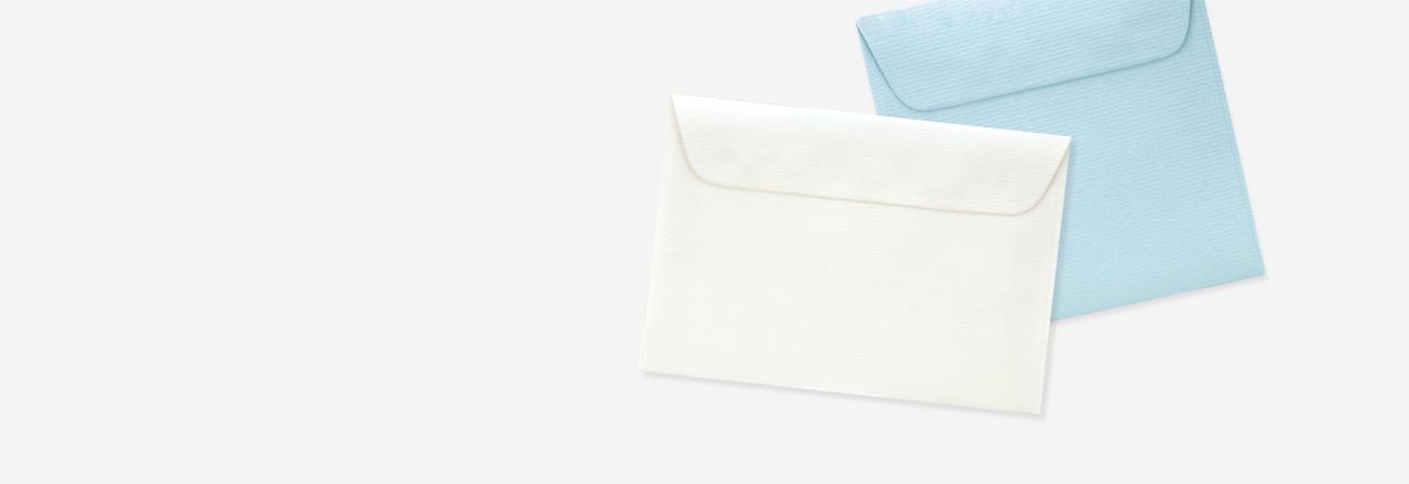 assortiment formats enveloppes