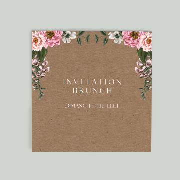 Carton mariage brunch