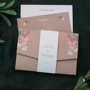 meilleures ventes cartes mariage champêtre