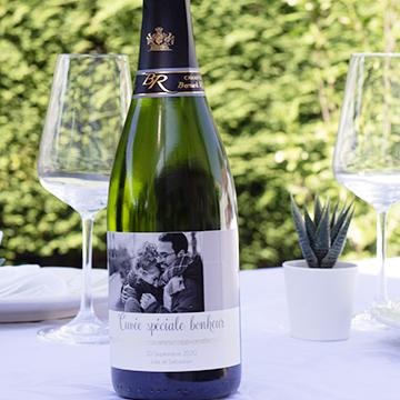 Étiquettes pour champagne