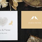 carton invitation diner mariage