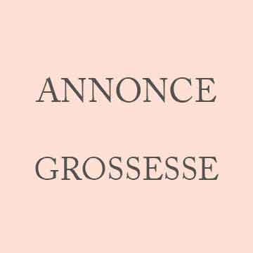 Annonce grossesse