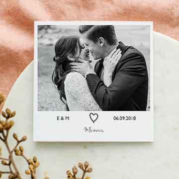 Nouveautés cartes remerciements mariage