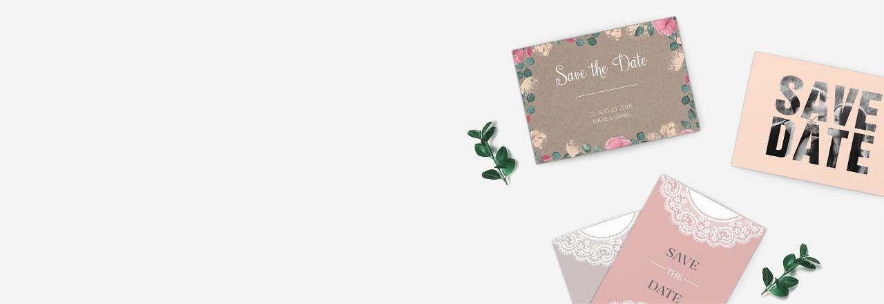 Save-the-Date-Karten Designs