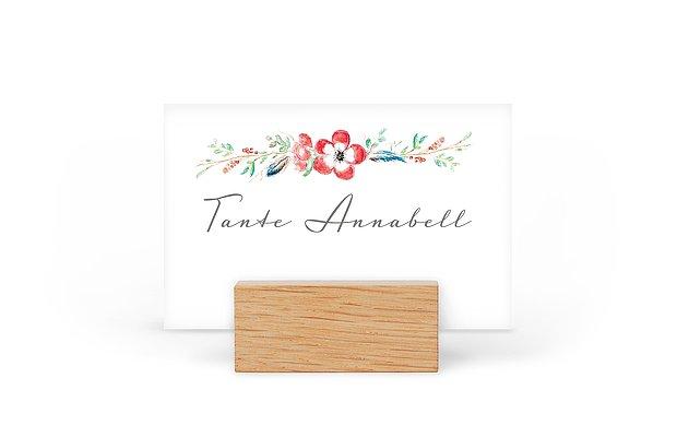 Tischkarte Hochzeit Blossom