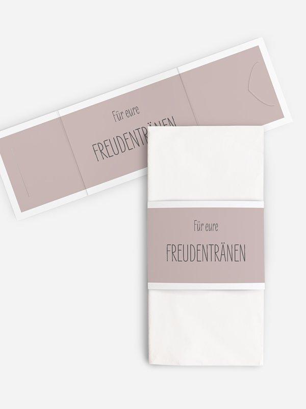 Freudentränen-Taschentücher Farbenpracht