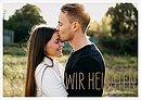 """Hochzeitseinladung """"Farbenpracht"""""""