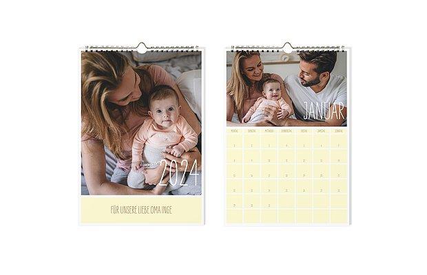 Wandkalender selbst gestalten & drucken ‒ in 1-2 Tagen