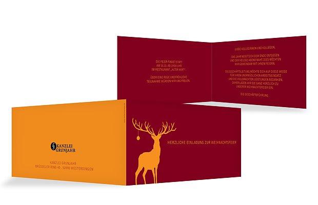 Einladungen Zur Weihnachtsfeier Einladungskarten Drucken
