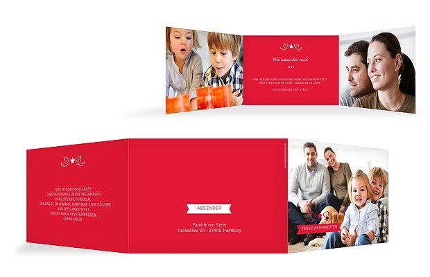 """Weihnachtskarte """"Stilvoll"""""""
