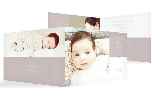 Geburtskarte New Baby