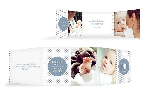 Geburtskarte Sternchen