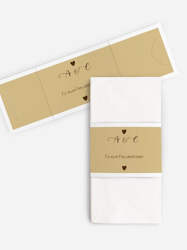 Freudentränen-Taschentücher Mit Herz