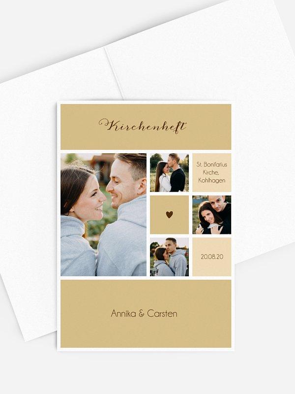 Kirchenheft Hochzeit Mit Herz