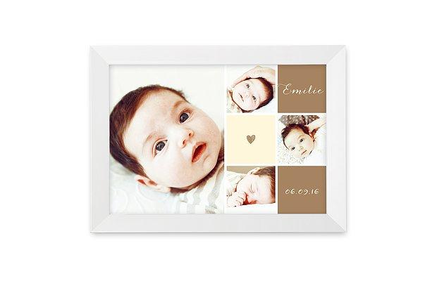 Wandbild Geburt Mit Herz