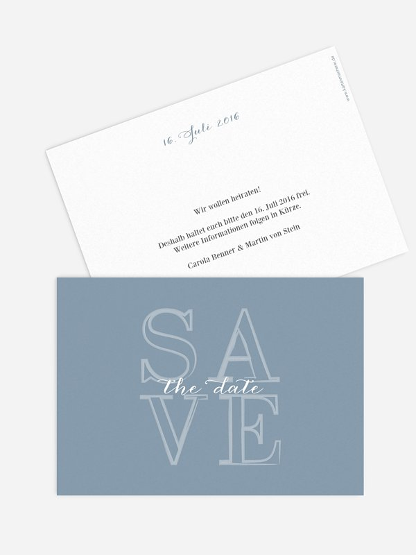 Save-the-Date Karte Forever Love